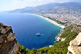 Alanya View Of The City From Fortress Antalya Turkey Home