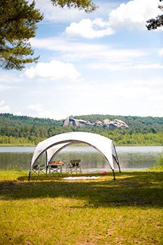 Coleman Event Shelter Pavillon, Regen- und Sonnenschutz Gartenpavillon für Partys, Strände, Festivals, Sportveranstaltungen oder Campingplätze, Stabile Stahlstangen Konstruktion, Hoher UV- Schutz - 4