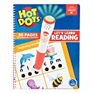 Educational Insights Hot Dots Let's Learn Kindergarten Reading - Learn to Read Kindergarten Workbook, Ages 5+ AMAZON EXCLUSIVE