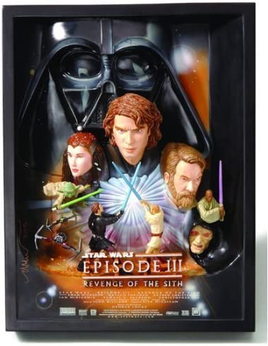 Star Rapid rise Wars: Episode III - Revenge of sale Sc Sith Poster Movie 3-D the