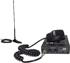 PNI Paquete de Radio CB Midland Alan 100 + Antena Extra 45 con imán, Sq, Scan, 4 W, Am-FM, 12 V, 5 – 7 KM