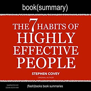 Summary of The 7 Habits of Highly Effective People by Stephen Covey audiobook cover art