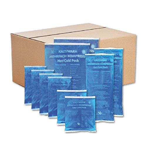 KK-Hygiene Kalt-Warm Kompressen Set, Mehrfachkompressen 10 teiliges Set mit verschiedenen Größen
