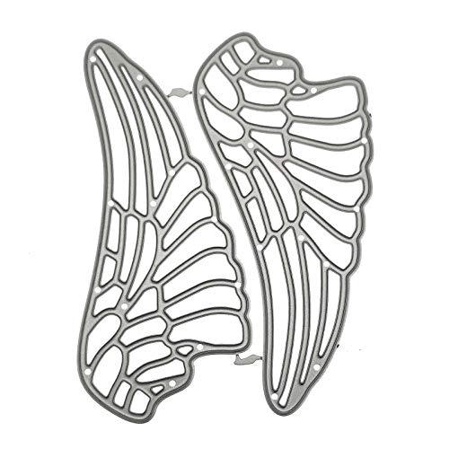Plantillas de corte de alas de ángel para hacer tarjetas, álbumes de fotos, tarjetas, papel, manualidades, manualidades