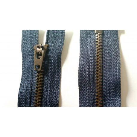 M & C Fermeture Eclair à glissière 10 cm Coloris Marine Pantalon Jeans
