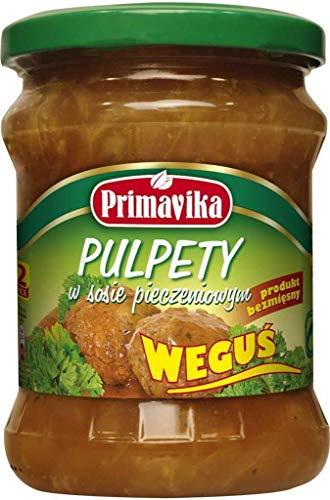 Albóndigas vegetarianas en salsa 420 g Primavika