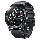 HONOR Smartwatch Magic Watch 2, 46 mm Fitness Tracker Armband, Amoled Touchscreen, GPS, Fitness Armbanduhr, Herzfrequenzmessung, 5 ATM wasserdicht, Schwarz