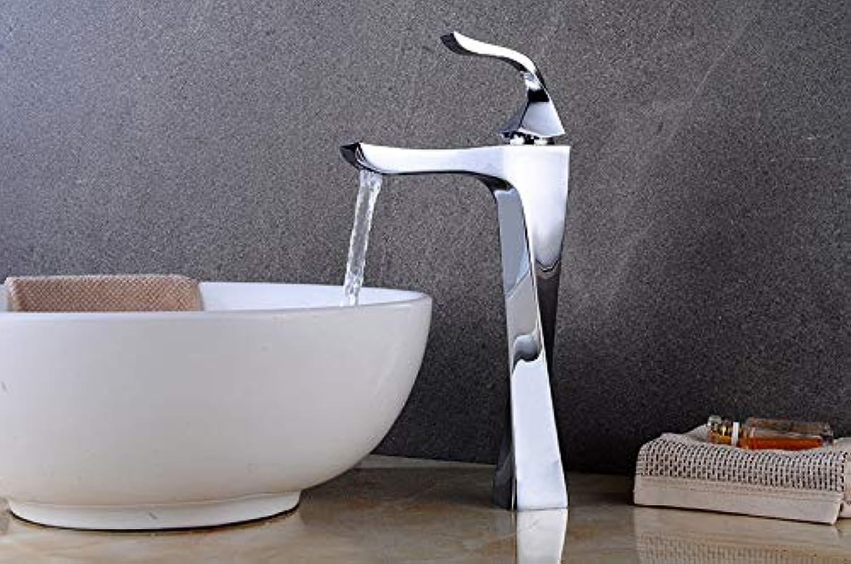 ROTOOY Wasserhhne Hahn -Bad Eitelkeiten Badezimmer Wasserhahn MitWarmen Und Kalten WasserhhnePublikum Tpfe Kunstform Führende