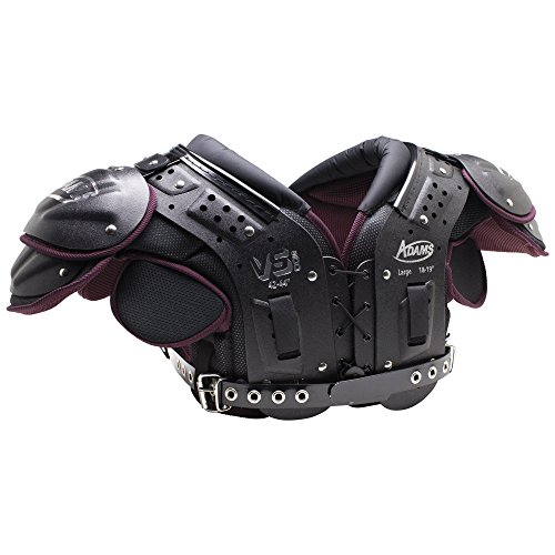 ADAMS USA VS500 Varsity Skill Football Shoulder Pads, Medium