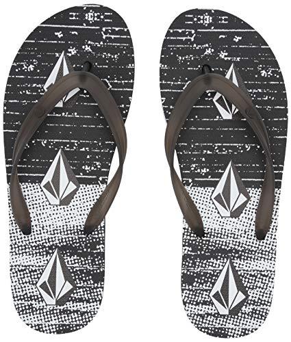 Volcom Heren Rocker 2 Grafische Print Flip Flop Sandaal, Heren Rocker 2 Grafische Print Flip Flop Sandaal
