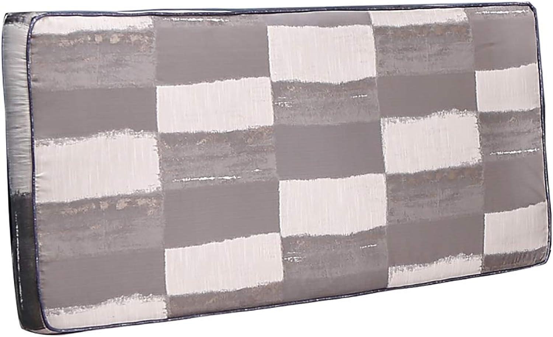 CHAXIA Coussin De Tête De Lit Oreiller étui Souple Coussin De Dos Tissu Facile à Démonter Remplissage D'éponge, 6 Couleurs 8 Tailles (Couleur   F, Taille   120x8x70cm)