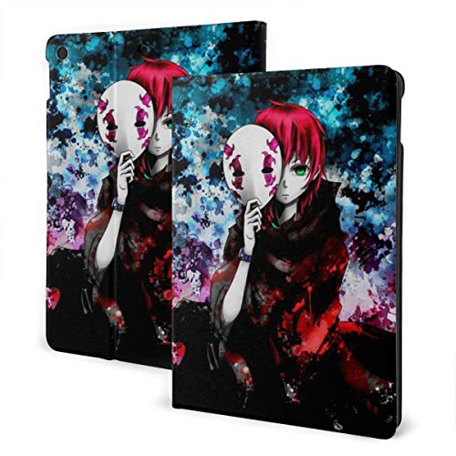 Anime Deadman Wonderland Case Fit iPad 7 th 10.2 Inch Case with Auto Sleep/Wake Ultra Slim Lightweight Stand Leather Case