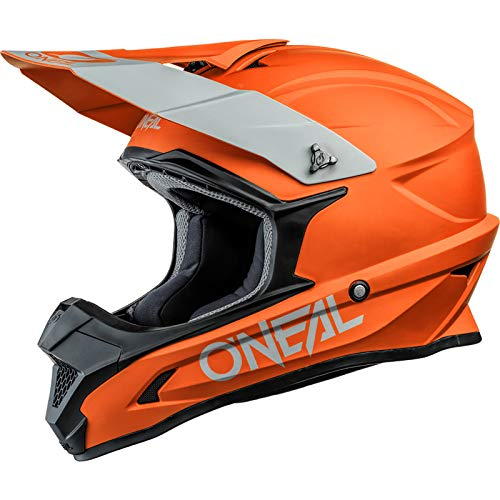 O'Neal 0632-144 Casco 1Srs Solid, Arancione, L, 59-60 cm