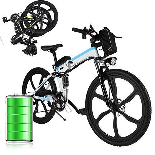 E-Bike Klapprad Mountainbike...