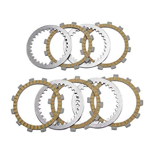 SFUO Discos del Embrague de fricción de la Motocicleta Ajuste para Suzuki TF125 Bicicleta de la Granja Todos los Modelos TS125 ERZ K L M A B C C2 ERN E NO 302345 FX125