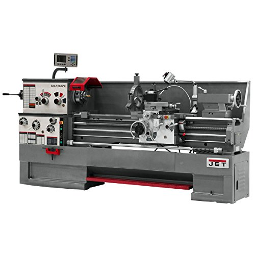 Great Features Of Jet 321615 GH-2280ZX, ACU-RITE 300S DRO With Taper Attachment and Collet Closer