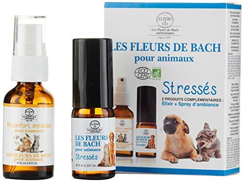 Elixirs & Co las flores de Bach Kit para animales stressés