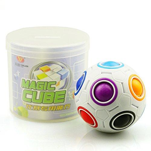 EasyGame Cubo mágico 3D Ball Educación Revolucionaria Ball Cube Puzzle Rompecabezas Juguetes para niños Inteligentes Playtime
