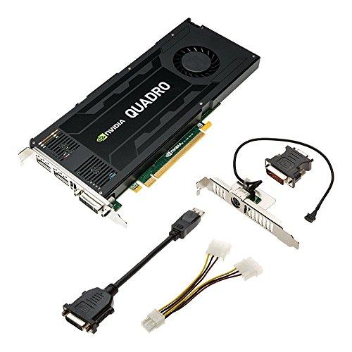 PNY VCQK4200-PB Quadro K4200 4GB GDDR5 Grafikkarte - Grafikkarten (NVIDIA, Quadro K4200, 3840 x 2160 Pixel, 2048 x 1536 Pixel, 3840 x 2160 Pixel, 4 GB)