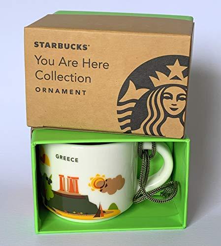 Starbucks Greece You Are Here YAH Espresso Shot Coffee Ornament Mug