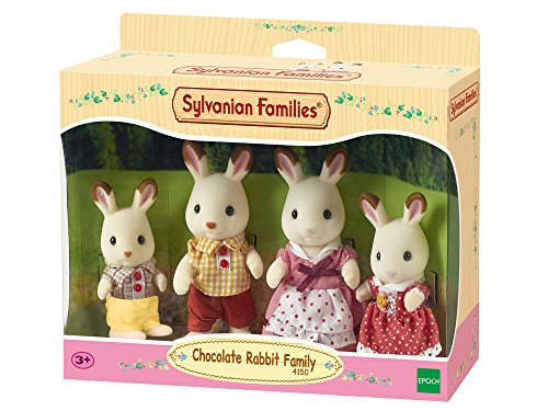 Sylvanian Families - 4150 - Familia Conejo Chocolate