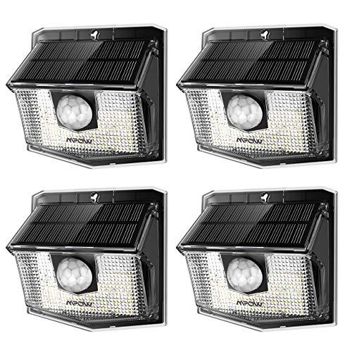 Lamparas solares exteriores LED Mpow