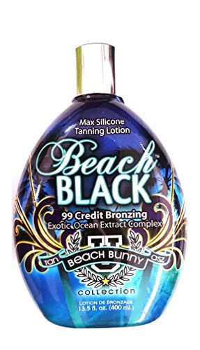 Beach Black 99x Bronzer Indoor Tanning Lotion By Brown Sugar Tan Inc. Tan Asz U 400ml (13.5 Oz) by Tan Inc