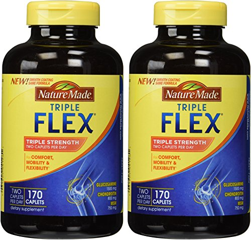 Nature Made TripleFlex - Glucosamine Chondroitin – (2Pack X 170 Caplets)