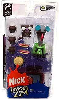 Invader Zim Series Two of Doom Gir in Doggie Disguise Figure Set Hot Topic Exclusive by Nickelodeon