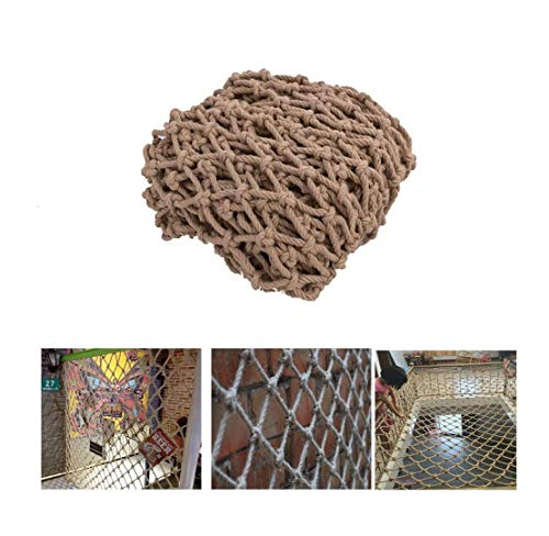 Child Safety Net Protection Climbing Frames Climbing stairs balcony railing protection woven rope, cargo trailer safety net weaving, children's playground decorative network ( Size : 2*6M(7*20ft) )