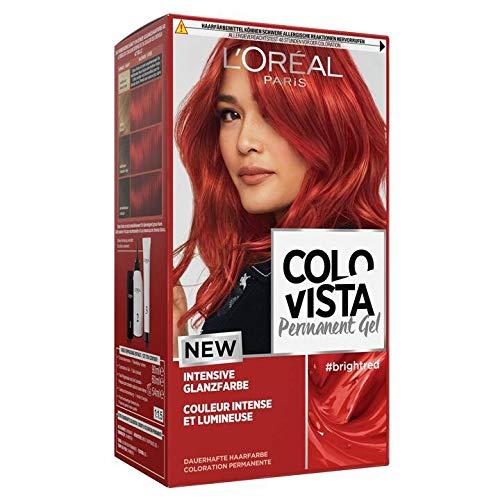 L'Oréal Colovista Permanent Gel Haarfarbe Brightred