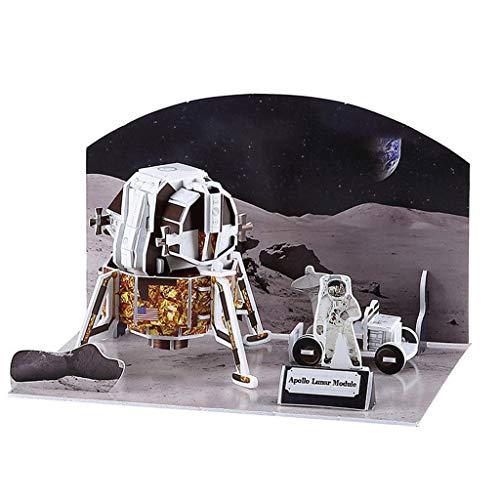 niumanery 3D Aerospace Solar System Globe Puzzle Jigsaw Educational Toy DIY Assembled Gift C