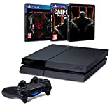 Contenu : Console PS4 500 Go Noire + Metal Gear Solid V : The Phantom Pain Call of Duty : Black Ops III + Steelbook exclusif Amazon
