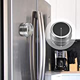YChoice365 Paquete de 6 tarros de especias magnéticos, olla de especias de acero inoxidable