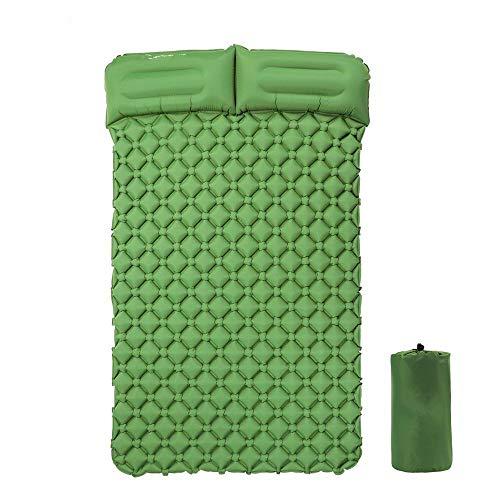 Aufblasbares Bett Luftmatratze Camping Matratze Aufblasbare Einzelschlafunterlage Campingkissen Feuchtigkeitsbeständige Luftbettmatten Superleichte Tragbare Luftmatratze Mit Kissen