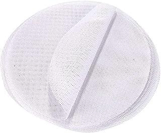 HiCollie 蒸し器用 食品用シリコン 蒸し饅頭 セイロ 点心調理用 蒸し布 もちふきん 耐熱耐久 水洗い可能 繰り返し 5枚入 (24cm)
