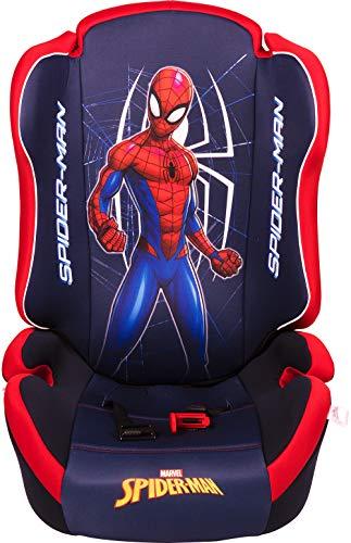 Marvel Spiderman ORIO Seggiolino Auto Spiderman Gruppo 2-3 (da 15 a 36 kg) Uomo Ragno