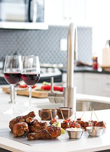 COOKINA Cuisine & ParchAluminum Lot de feuilles de cuisson antiadhésives - 9