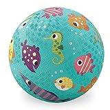 Crocodile Creek Fish Playground Ball, Teal, 5'