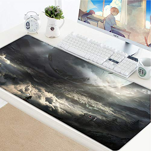 Gaming Mouse Pads Cool Destiny 35.4inch x 15.7inch x 0.1inch Laptop Computer pad Large Mouse Pad Keyboards Mat-31.511.80.1in