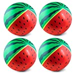 "4 Watermelon Beach Ball 20"" Inflatable Ball Vacation Pool Party Beach Fun Games Adult Kids"