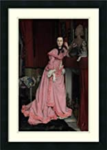 Framed Wall Art Print Portrait of The Marquise de Miramon, nee, Therese Feuillant by James Jacques Joseph Tissot 18.00 x 25.12