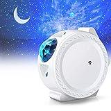 LED Projector Night Light, ALED LIGHT 3-in-1 Sky Star Projector Night Light Sky Moon Star Lamp for Baby,Kid,Room