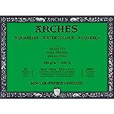 Unbekannt Arches–Bloc para Acuarelas, Madera, Color Blanco, Madera, weiß, 36 x 26 x 1 cm
