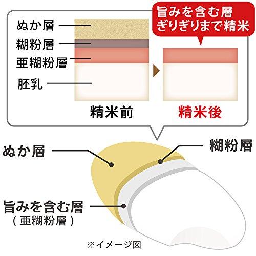 『アイリスオーヤマ 精米機 銘柄純白づき RCI-A5-B』の4枚目の画像