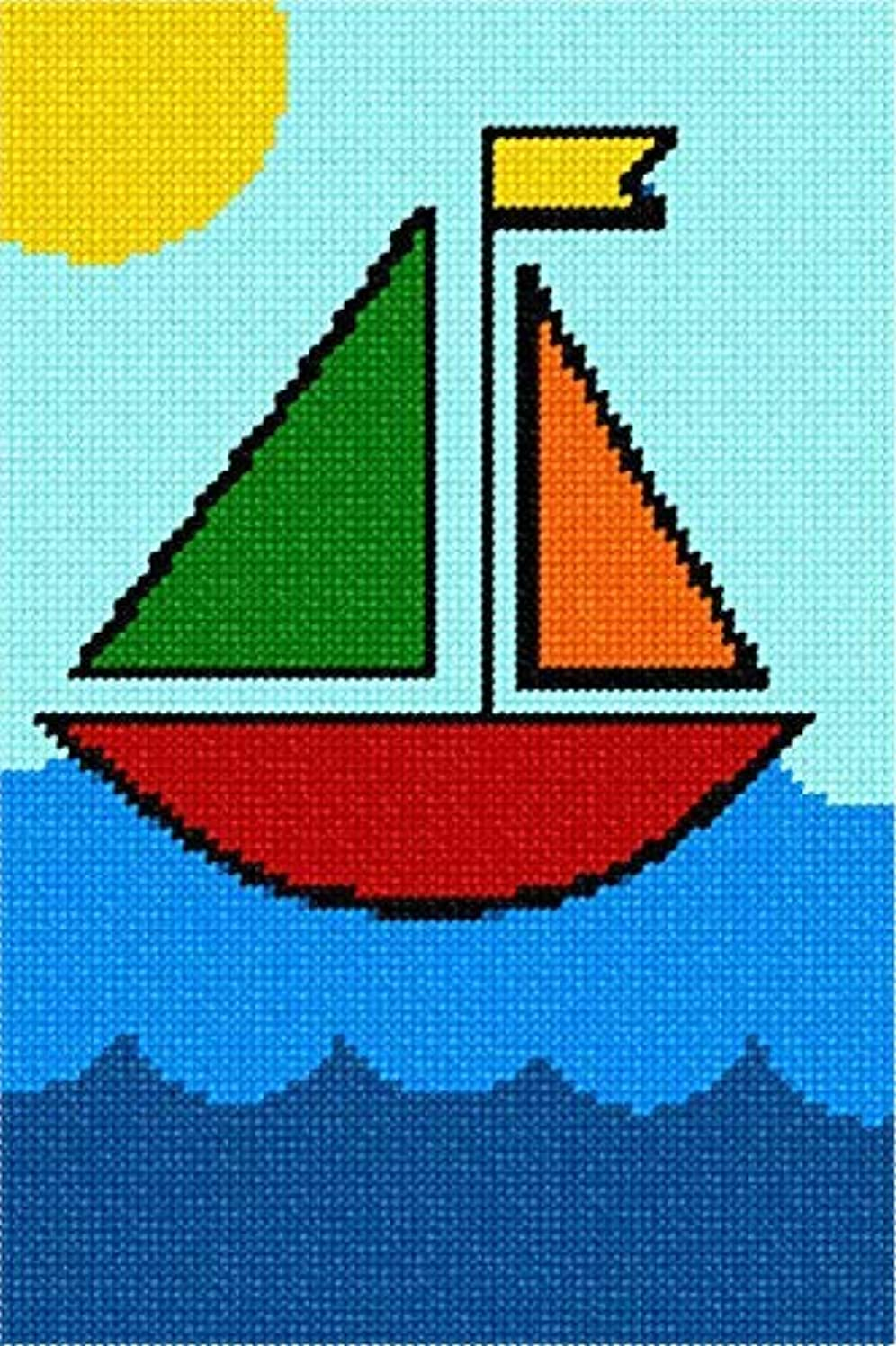 Pepita Sailboat Needlepoint Kit