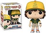Pop! Stranger Things #Dustin (Yellow Hat) Figura Coleccionable...