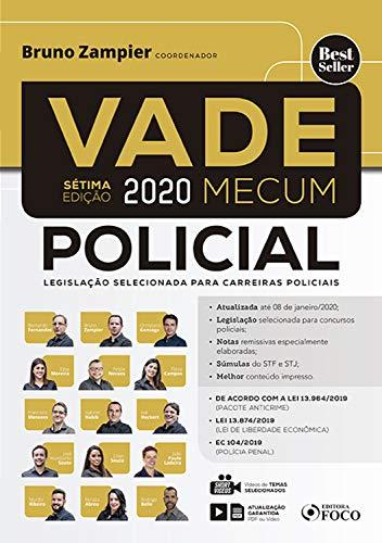 Vade Mecum policial - 2020: Legislação selecionada para carreiras policiais
