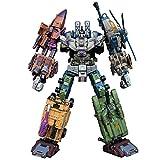 MIRECLE Deformación Juguete Modelo Rey Kong Ataque Ares niño niños Regalo Coche Robot 65 cm
