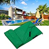DIF Pool Cover, Patio Heater Pools Cover Rectangular In Ground Pool Safety Cover Waterproof Protector Outdoor...